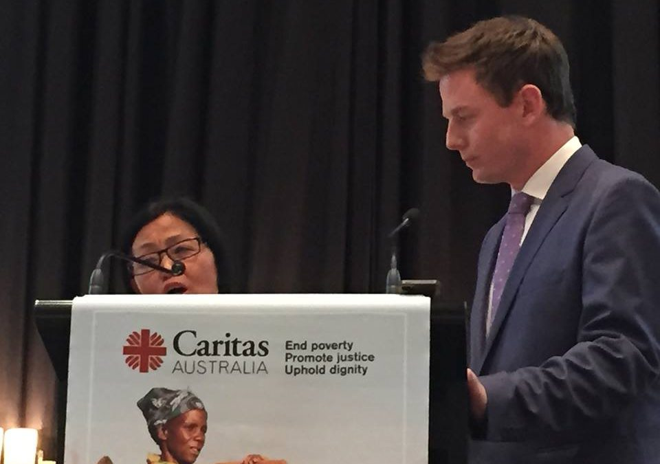 Caritas Australia and Church Resources Creating Change