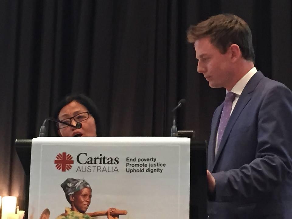 caritas australia international aid organisation