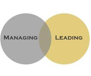 Managing v Leading