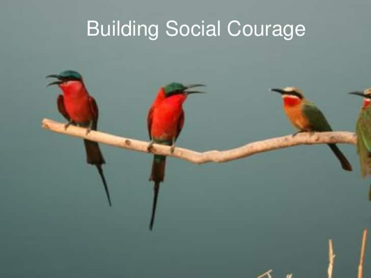 When courage in leadership comes to call