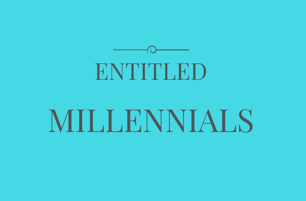 Did you know entitled millennials actually boost benefits for business?