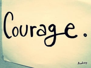 courage when leading